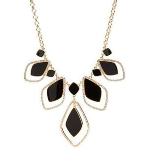 Crown & Ivy™ Quatrefoil Frontal Necklace